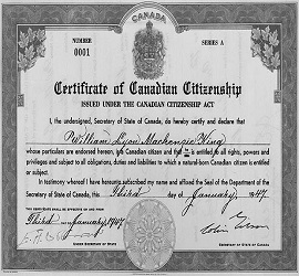 Citizenship of second class Canadians may be taken away