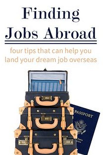 Tips to Apply for Overseas Jobs