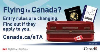 Canada annnounces postponement of eTA ruling