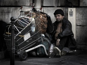 homeless Indian immigrants