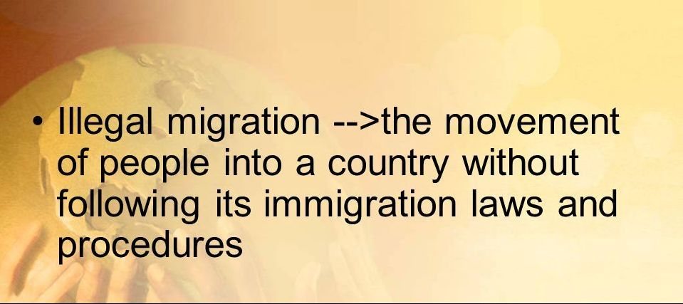 Illgal immigrants in Canada