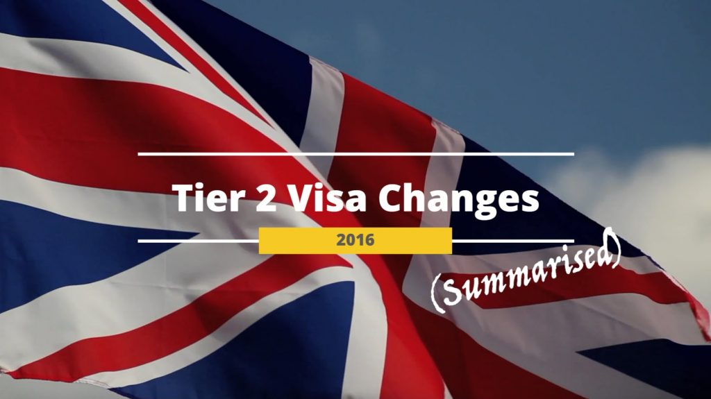 Proposed Changes in UK Immigration rules
