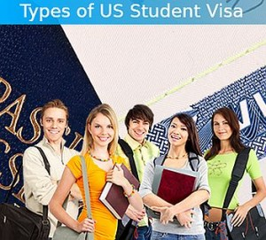 Types of US Student visas
