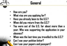 Some Common US Visa Interview Questions, you need to be prepared for