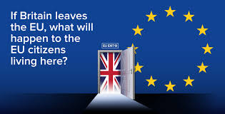 EU Nationals may not be deported post Brexit in 2019 and those not having completed 5 years of stay in Britain could be granted Amnesty