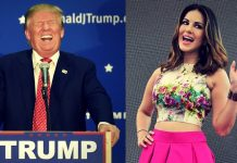 Sunny Leone and Trump- Trump's fear among immigrants has overshadowed Sunny in Google Trends by big Margin