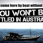 How Australia managed to control illegal immigrants entering Australia