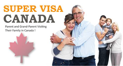 Super Visa for Parents and Grand Parents