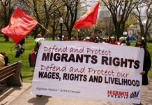 Migrant Workers working in Canada in foreign workers program