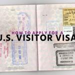 Process of applying US Visitor Visa