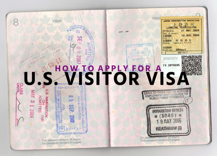 Process of applying US Visitor Visa