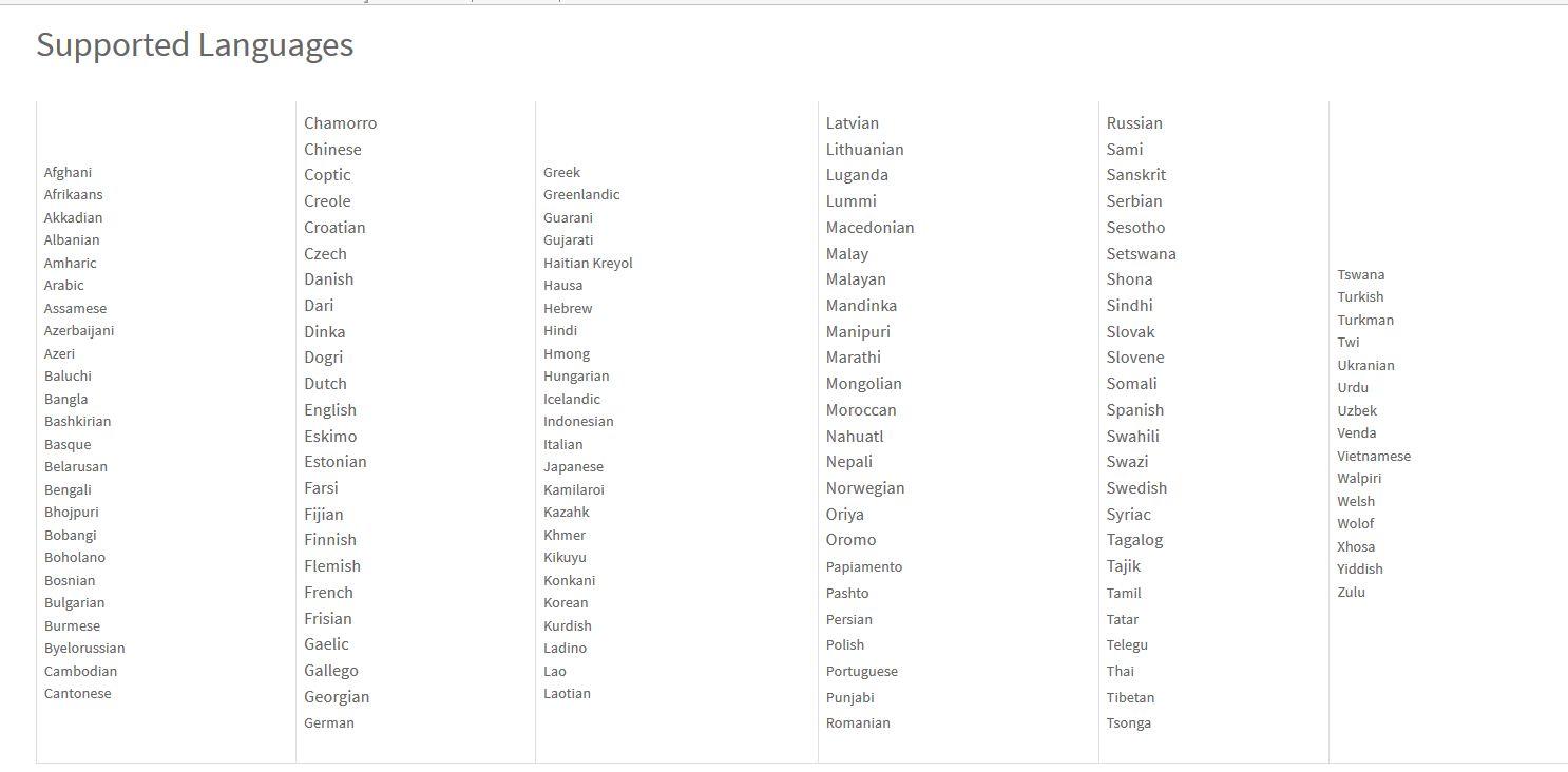 Immigration Document Translation Services