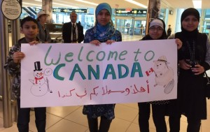 Refugee immigrants from 7 banned countries by the US administration are coming to Canada