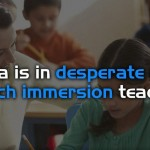 Increased Demand For French Immersion Teachers in Canada