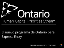 Human Capital Priorities Immigration stream Opened in February 2017