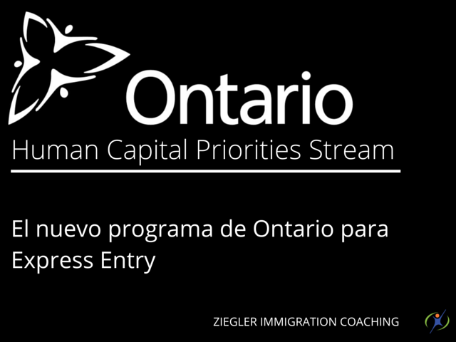 Express entry system in Ontario get more streamlined with the all new Human Capital Priorities immigration stream
