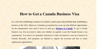 Rules regarding business visit visa for Canada Explained