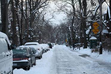 Most Immigrants are not used to too living with too much of snow fall and chilling weather