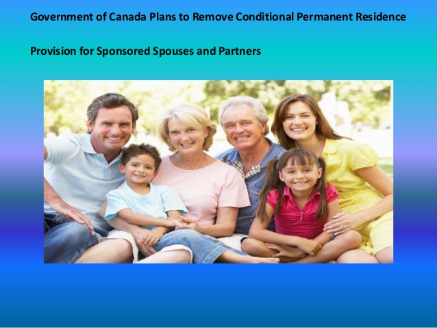 Conditional Permanent Residence Provision for Spouse