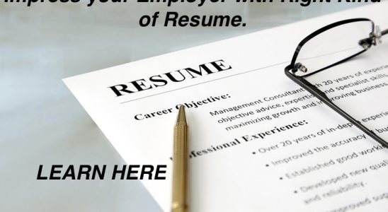 Canadian style resume format