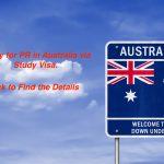 Apply for PR in Australia via Study Visa