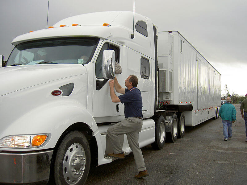 truck driver in Canada