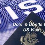 applying for US VISA