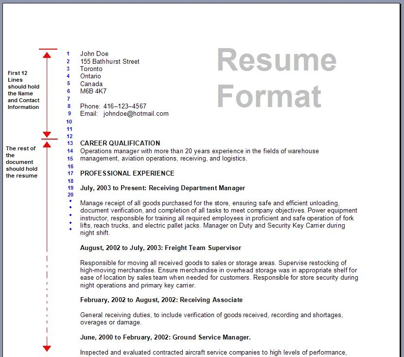 a guide to create a canadian style resume increase your chances of