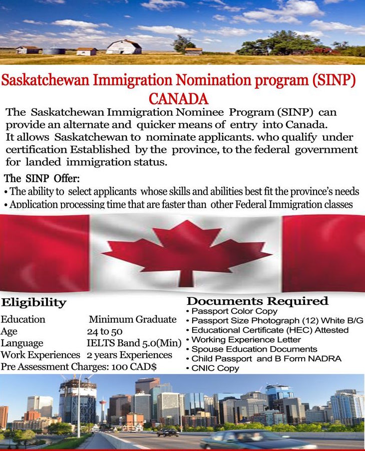 Canadian Province Saskatchewan Maximized the Intake for the Most Popular Two Sub-Categories amongst Aspiring Immigrants