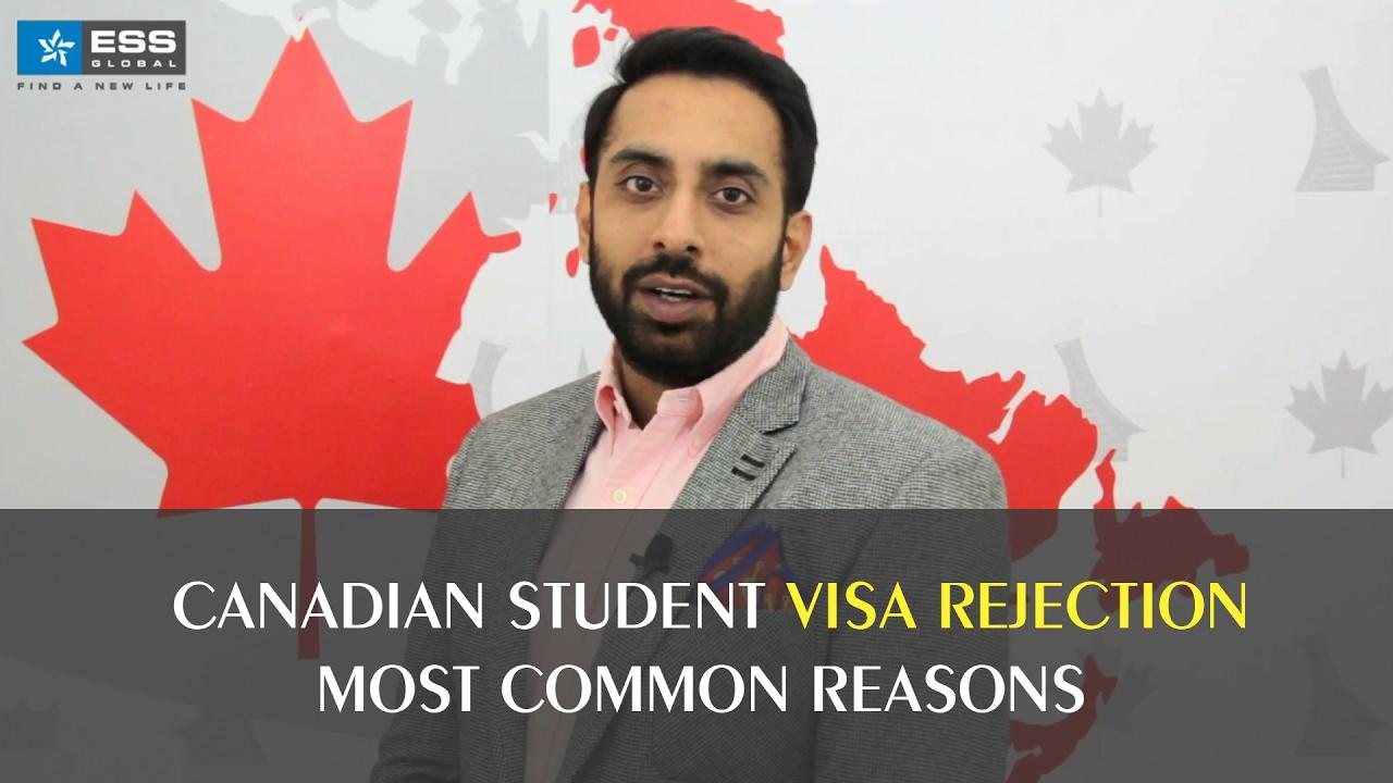 Student visa rejection