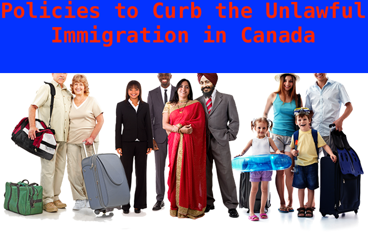 Canadian Government to Implement Rigorous Border Policies to Curb the Unlawful Immigration