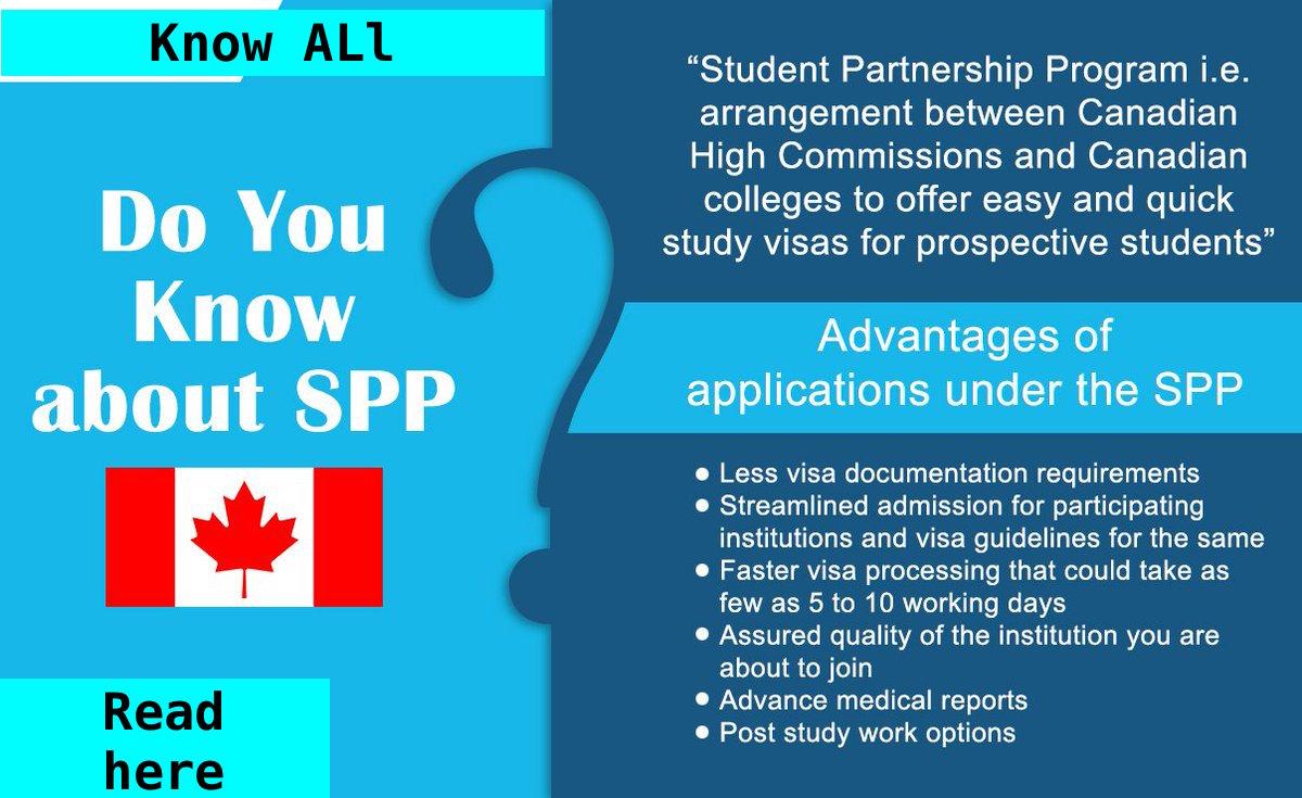 SPP Rules Canadian Study Visa