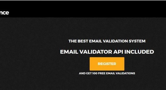 Leading online email validation system that eliminates deliverability issues