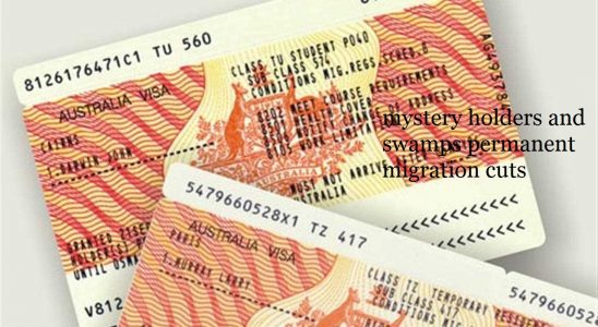 Bridging visa surge includes 37,000 mystery holders and swamps permanent migration cuts