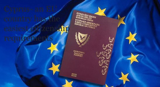 Cyprus An Eu Country Has The Easiest Citizenship Requirements