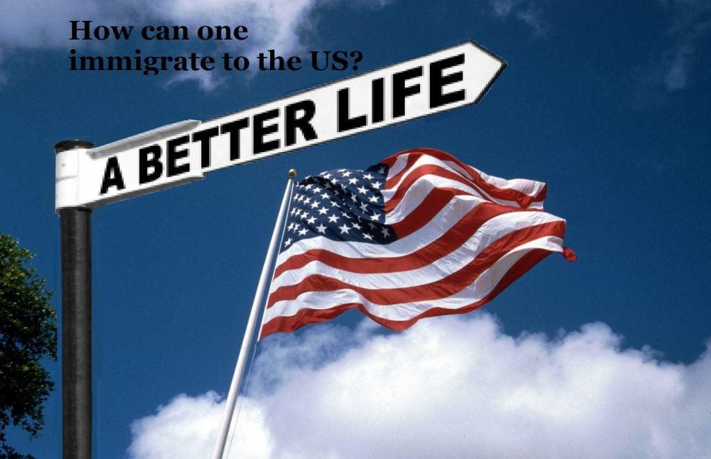 How can one immigrate to the US?