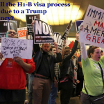 How will the H1-B visa process change due to a Trump presidency?