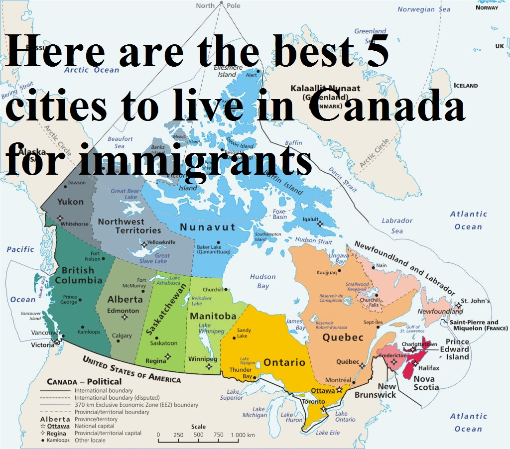 When a person decided to move to a new country, he makes that decision by considering various factors such as employment to survive, education for children, local neighborhood for living, safety of the selected area and keeping in mind other basic daily needs. If a person is moving to an another country spending his earnings he always wanted to stay in the best city of that country. Canada as a whole is very welcoming toward the immigrants but we have chosen the top 5 countries for you where you can stay and work peacefully. Here are the best 5 cities to live in Canada for immigrants- #1 – Ottawa, Ontario With the country's capital Ottawa is the also the largest city of the Canada. With the growing population, city also provide you with job opportunities in the various fields such as health and care etc. Ottawa is a hub for research institutes giving opportunities to the immigrants to work in that sector. Not only the research sector but also the technology sector is also on boom of this city. Attracting most of the immigrants towards it. Ottawa is also a city in which people from where countries live and work giving the city more ethnic touch. According the report by Moneysense Magazine Ottawa is ranked at the number one position in comparison to others in case of living and working culture. Talking of the work culture, it is very much accumulating as every 4th person in the city is an immigrant. City is also known for its outdoor activities such as horse riding, skating, yoga, bicycling etc. Immigrant who is planning to come to Canada Ottawa is the best place to come and explore. #2 – Waterloo, Ontario Waterloo is kind a small city with all 110,000 population but with big dreams. In the year 2007 waterloo was awarded as an intelligent community by New York's Intelligent Communities Forum. This can be easily proof as the Toronto-Waterloo corridor is hub of the giant technology companies such as IBM, Google, RIM and many more. On the education prospective Waterloo is a place of two one of the best universities-University of Waterloo and Wilfrid Laurier University. Making Waterloo famous destination among the students. With the job prospective Waterloo has very much job opportunities. Waterloo has job salaries in match with the other big cities but if we compare cost of living is far much lower than any of that big cities. Waterloo gives you same quality of living standard with at much lower cost. Everything in the Waterloo is easily accessible. #3 – Regina, Saskatchewan Regina is the 2nd largest province with population around 226,000 and it is the capital city of Saskatchewan. Regina is a multicultural city, where you will find people from different countries. You will get to know persons with different lingual in the Regina. Regina has natural gas and oil industries which provide the great opportunity for the immigrants. With industries you will be amaze by the extreme weather from harsh cold winters to humid summers with the sun on top. #4 – Brossard, Quebec Brossard, is an immigrant city with 36% of the total population is of immigrants. Immigrants residing in the Brossard are from the different communities such as Chinese, Spanish, Arabic, Persian and many more. Brossard is more of a sub-urban area, anyone who wants higher opportunities, he can easily commute to Montreal. There is lot of scope for the immigrants who wants to study and pursue their career in law, business, health care because Brossard has best institution for these and that is Ministere de l'Immigration, de la Diversite et de l'Inclusion. #5 – Brandon, Manitoba Brandon is on the river-side of Manitoba. Brandon same as Waterloo provides high salaries and low cost of living. Unlike many of the cities in Canada, in Brandon the first language is not English or French and most of the common language in the Brandon are Spanish, Mandarin. Maple Leaf Foods is the largest employer in the region and since 2010 it has attracted many of the many of the skilled immigrants.