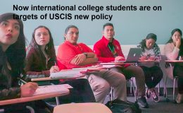 Now international college students are on targets of USCIS new policy
