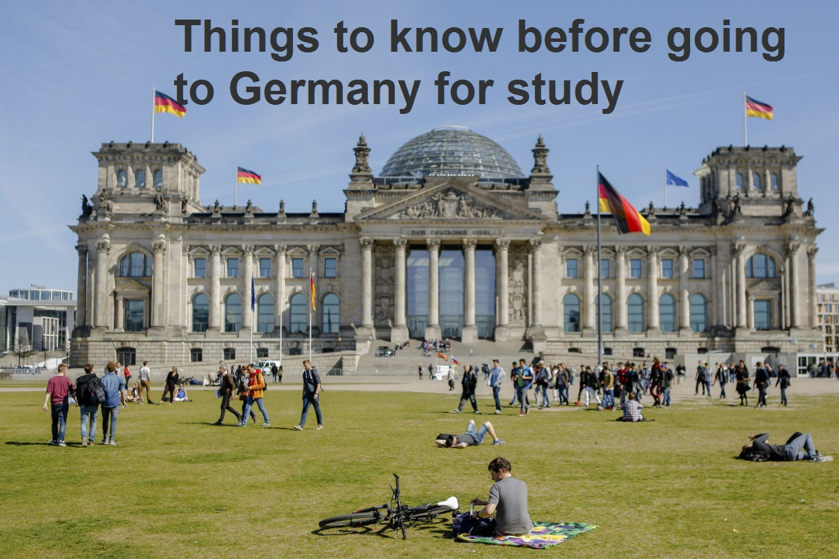 Things to know before going to Germany for study
