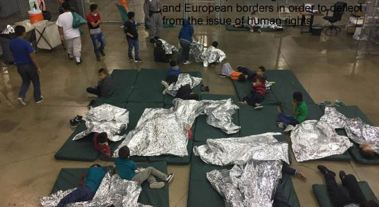 Children are presenting as threats at US and European borders in order to deflect from the issue of human rights