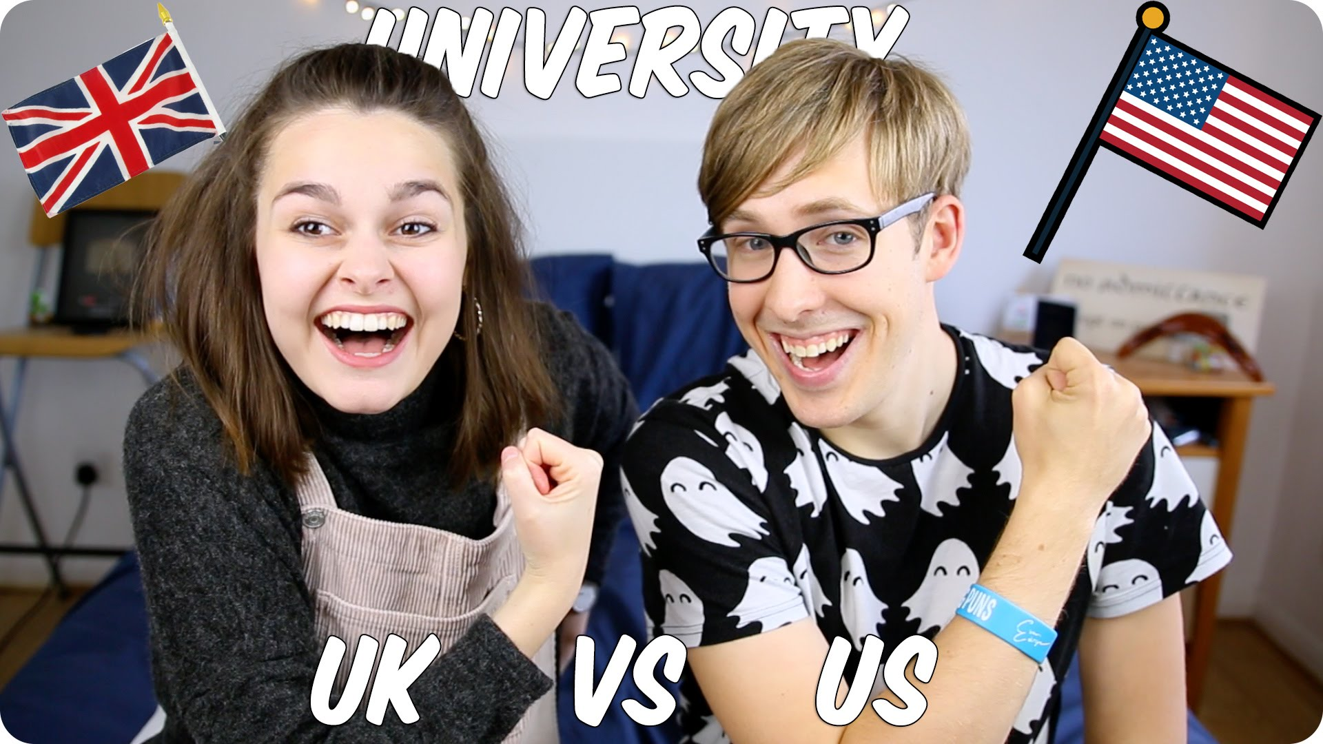 How different are American universities from the British universities?