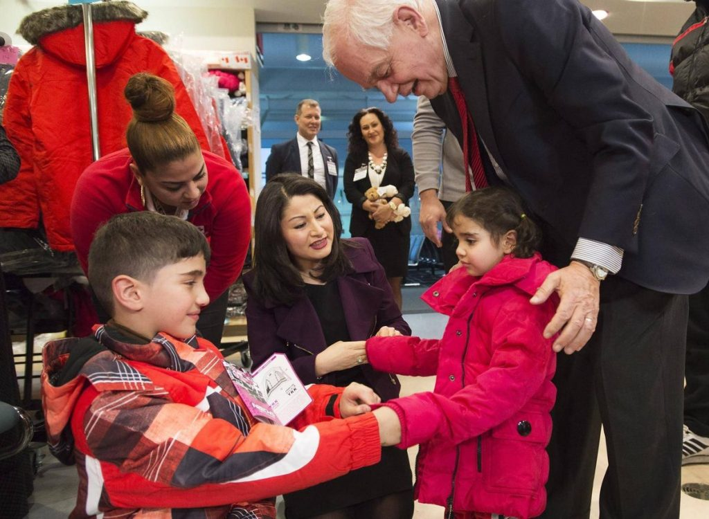 Resettlement of refugees - Trudeau discuses resolution with Mayor John Tory