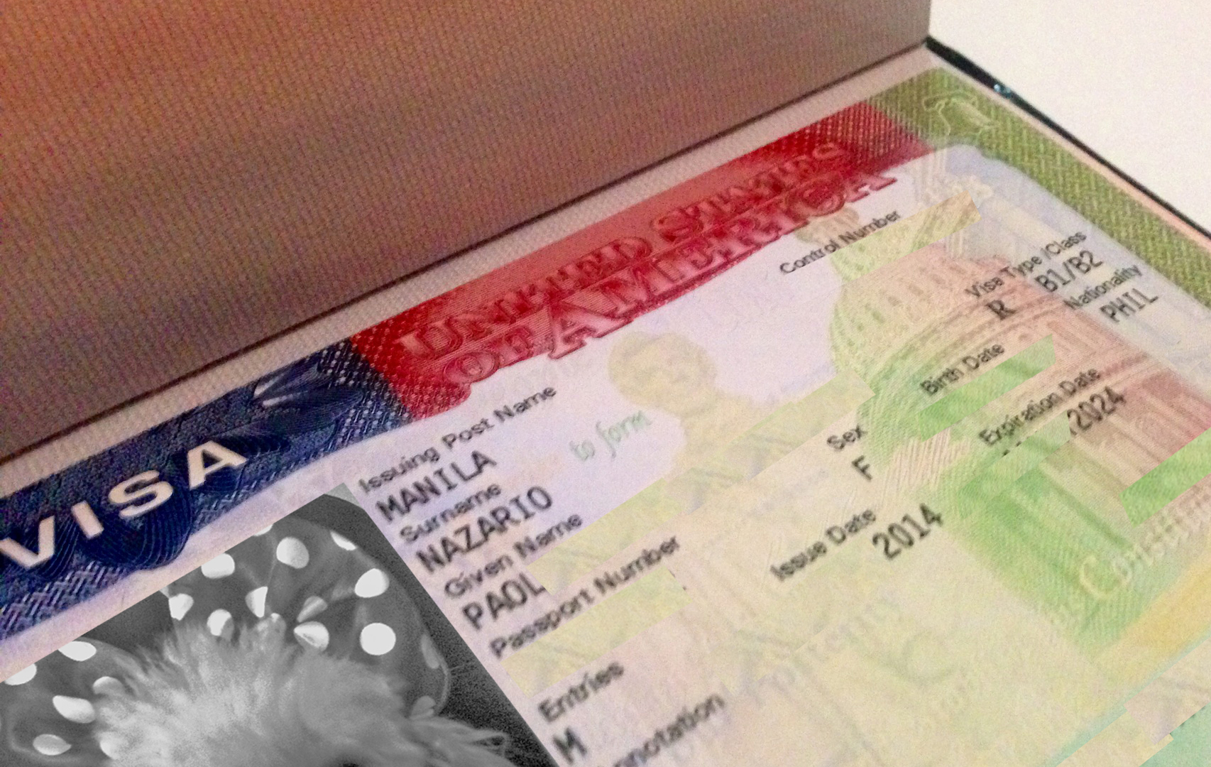 Questionnaire for the B-1/B-2 US visa interview