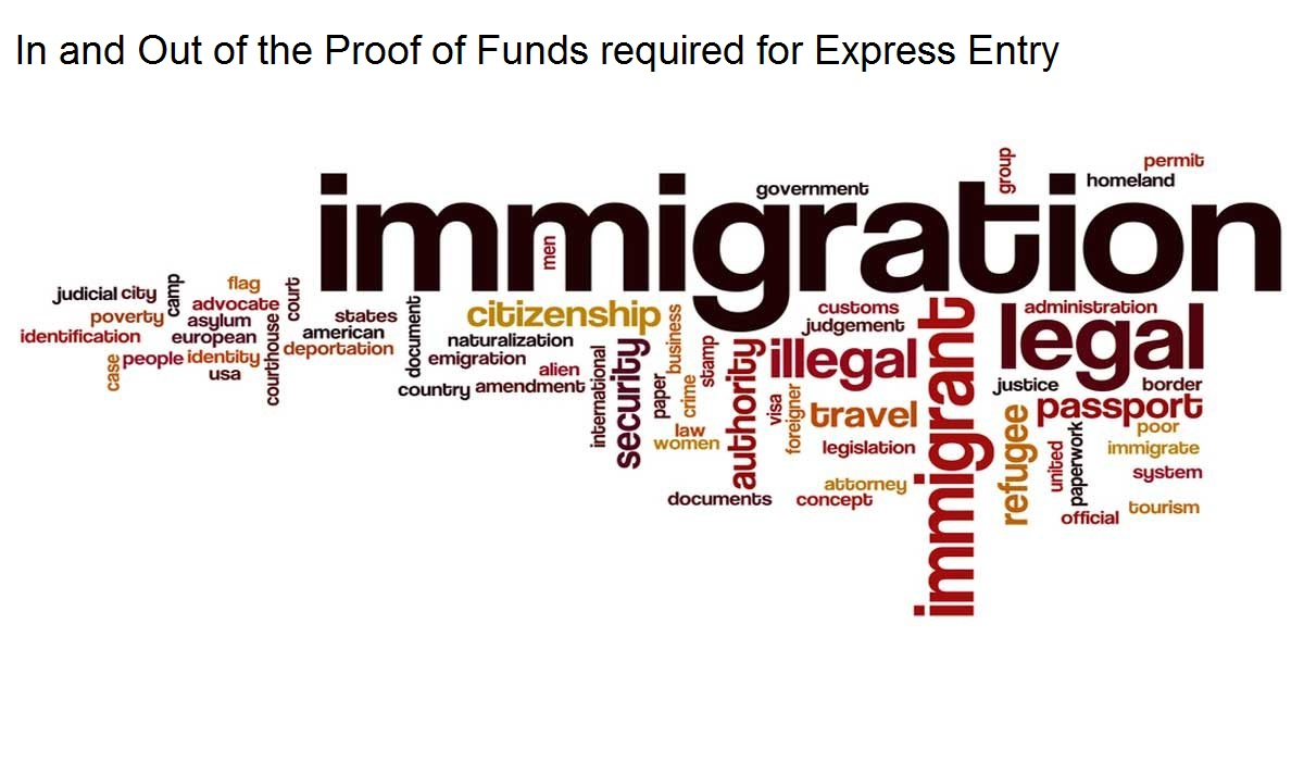 In and Out of the Proof of Funds required for Express Entry