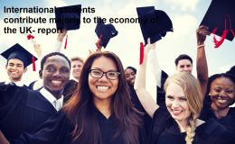 International students contribute majorly to the economy of the UK- report