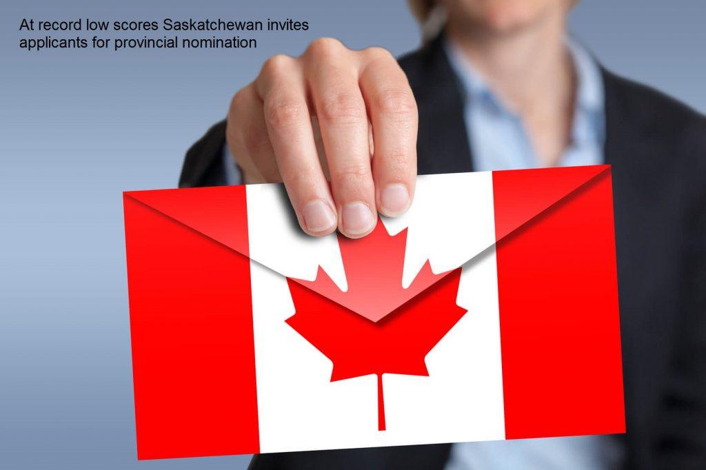 At record low scores Saskatchewan invites applicants for provincial nomination