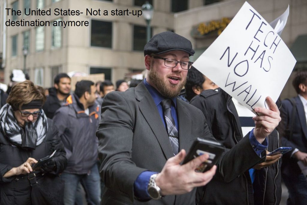 The United States- Not a start-up destination anymore