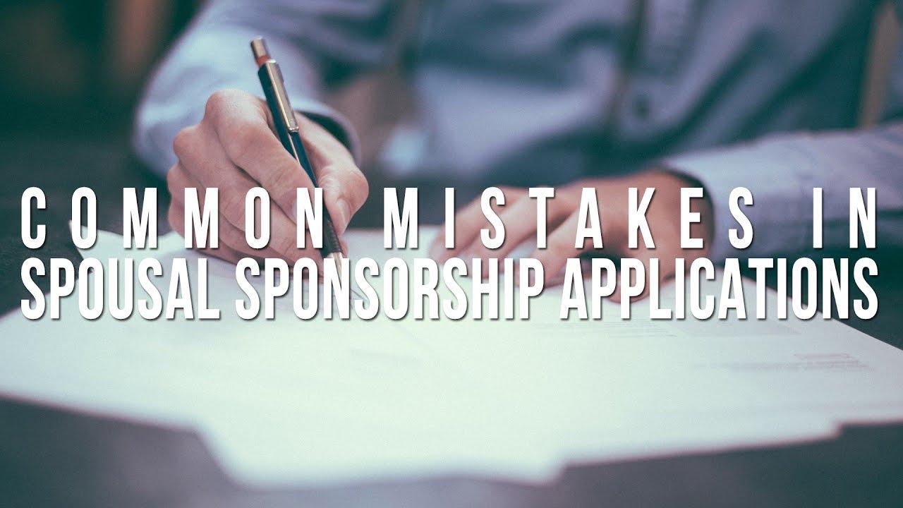 Spousal Sponsor Application Rejected