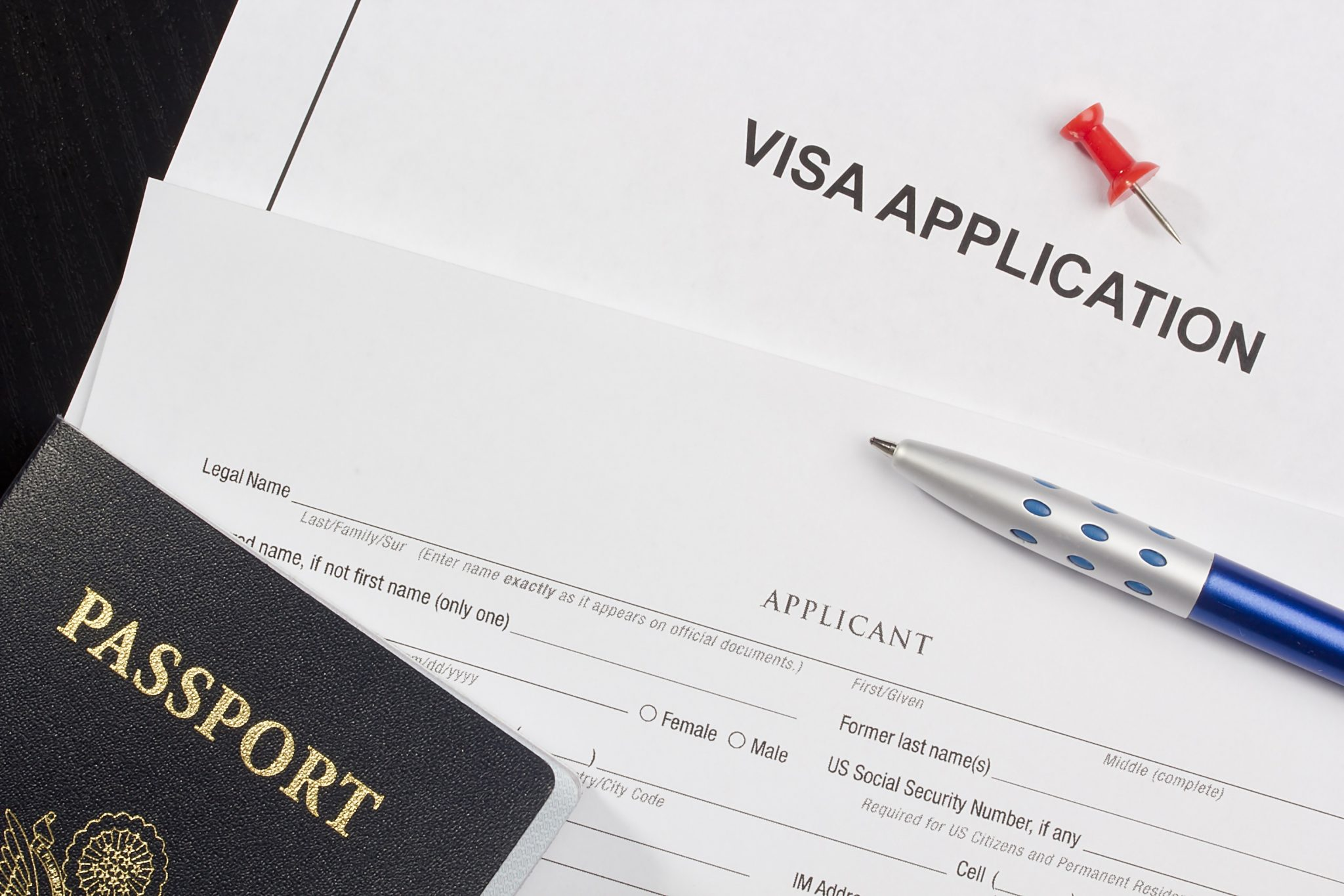 What are questions which might be asked while getting a student visa?